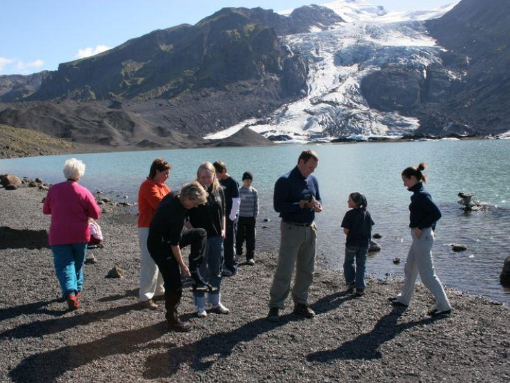 Golden Circle, the Glacier Lagoon and Crystal Caves