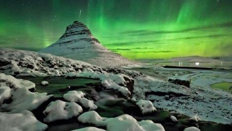 Snæfellsnes Peninsula and the Northern Lights